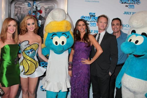 Katy Perry - 'THE SMURFS' PREMIERE IN NEW YORK