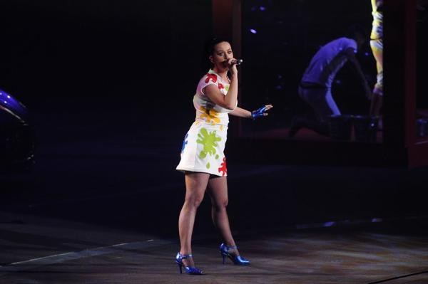 "Katy Perry - ""INFINITI BRAND FESTIVAL"" PRESS CONFERENCE"