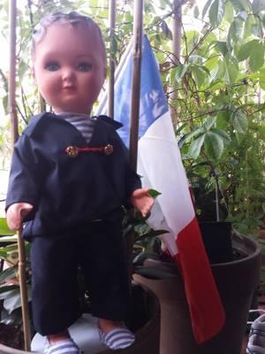 BRAVO LA FRANCE !!! même bébé perruche veut fêter la victoire des bleus ! il veut sortir du nid..... il a 25 jours !