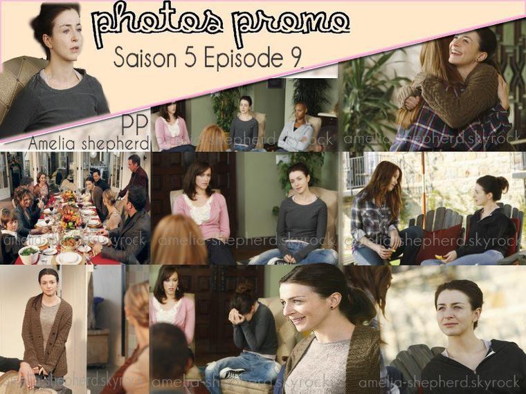 Photos promotionnel Saison 5 Episode 9