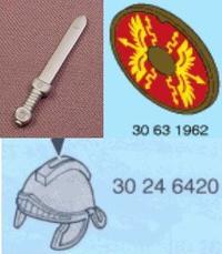 7877 centurion + 7878 légionnaires
