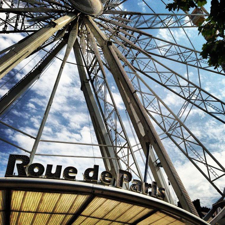 PARIS jardins des tuileries