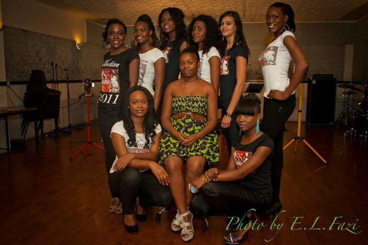 Casting Miss Centrafrique 2013