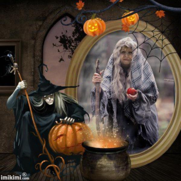 Je ne suis pas une mechante sorcière! bisous Ginette!