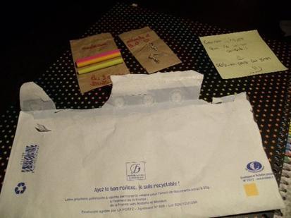 Surprise dans ma boîte aux lettres !