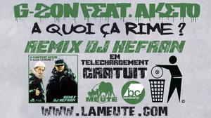"""TÉLÉCHARGEZ GRATUITEMENT LE NOUVEAU REMIX INÉDIT FEAT. AKETO (SNIPER) PRODUIT PAR DJ KEFRAN (LA MEUTE / THA LOOSE BROTHERZ DJ'S) EXTRAIT DE L'ALBUM A VENIR """"MUSIQUE NUISIBLE REMIX"""""""