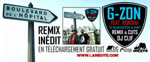 """NOUVEAU REMIX INÉDIT RÉALISÉ PAR DJ CLIF """"LE QUARTIER D'OÙ JE VIENS"""" FEAT. RONSHA EN TÉLÉCHARGEMENT GRATUIT !"""
