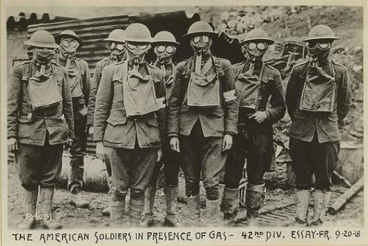 Mon uniforme complet ww1 us