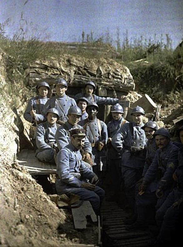 Uniforme de la ww1 infanterie de poilue français ww1