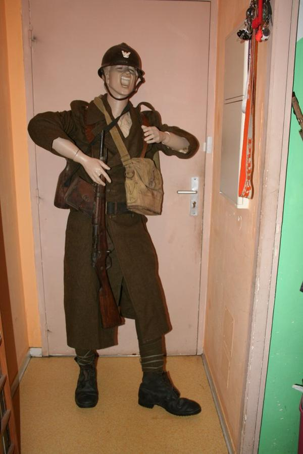 Soldat Polonais alliée de la France ww2
