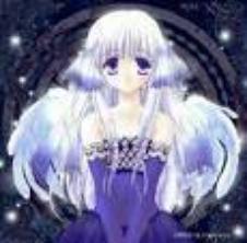 8 images de filles ange en manga.