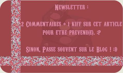 Présentation + Newsletter :D