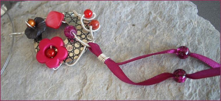 Pendentif Cranberry