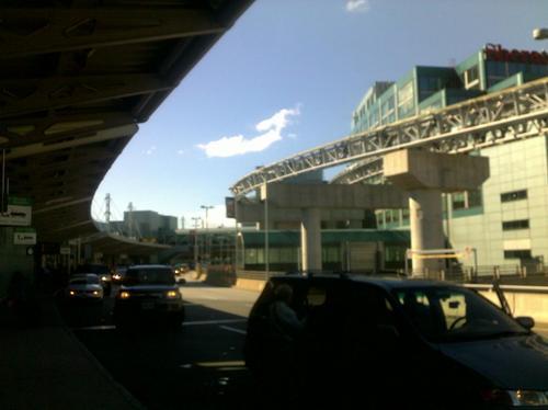 Départ de l'aéroport jusqu'à mon arrivée au Canada