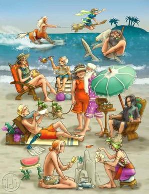 Vacance d'été