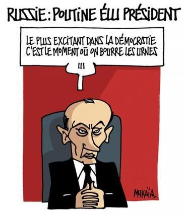Tendance/ Actu :De la démocratie Russe à la Campagne présidentielle en FRANCE