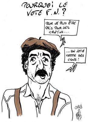 En France à la Saint Nicolas, c'est le Front National qui régale!