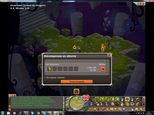 On a enfin le Dofus Emeraude !