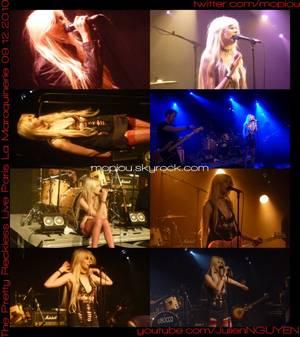 THE PRETTY RECKLESS Live in PARIS Maroquinerie 9 Décembre 2010 Concert avec Taylor Momsen