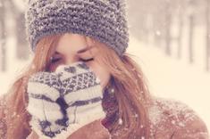 Je suis une gamine, quand il neige !
