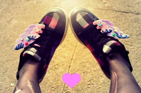 • DIY - Fairy Kei Wings ! Des ailes pour vos chaussures ! •