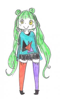 Mascotte du blog : Kaa~