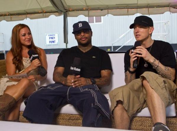 "Photo Royce Da 5'9"", Allison Hagendorf & Eminem"