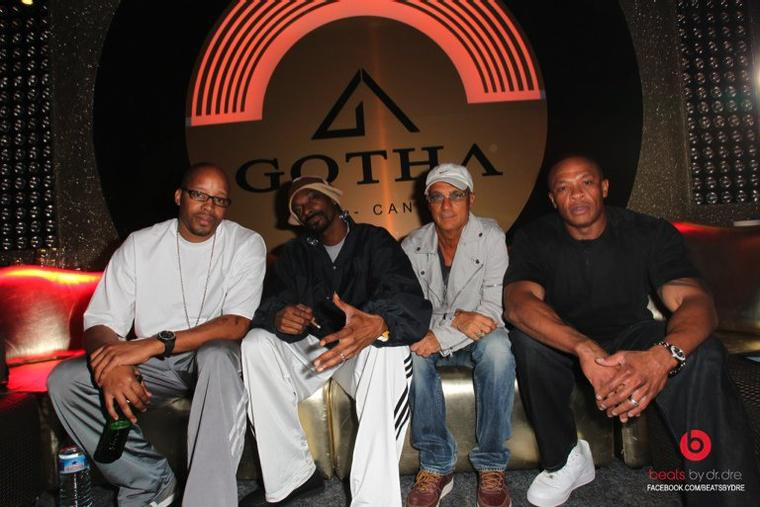 Dr. Dre, Snoop, Warren G, & Jimmy Lovine En France
