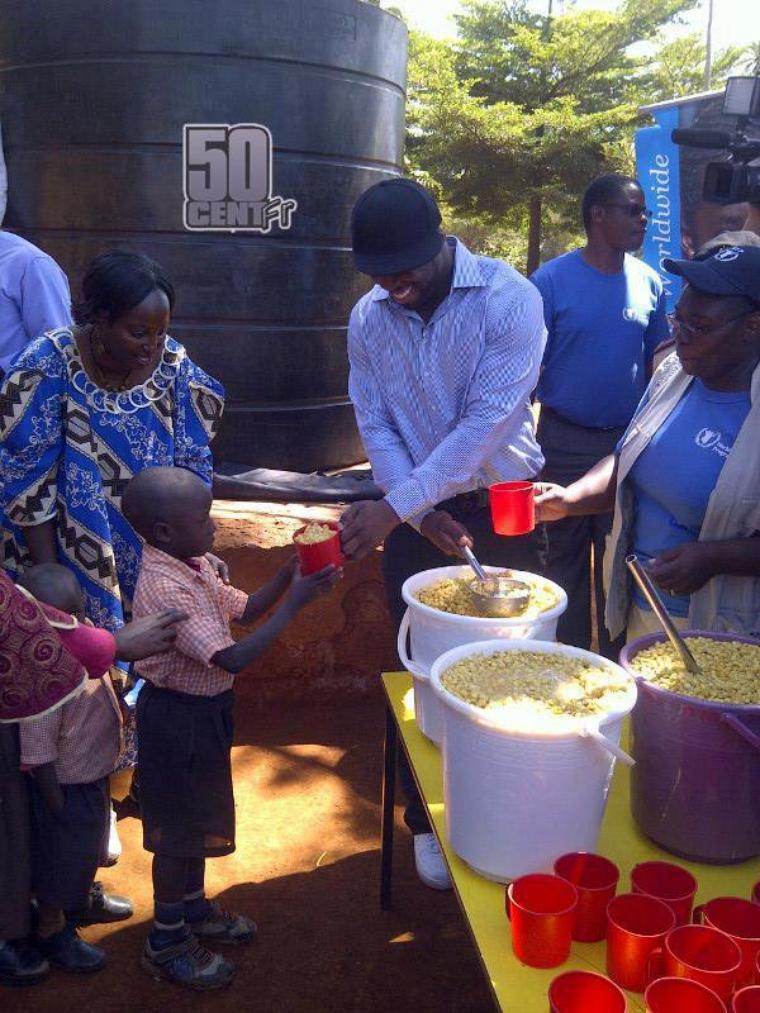 50 Cent Se Rend Au Kenya Et En Somalie Pour Street King