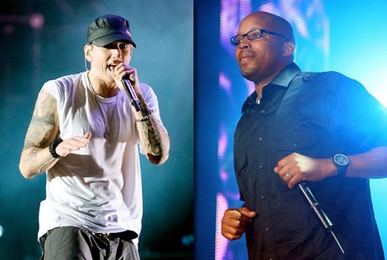 Eminem & Dr. Dre Sur Scène !