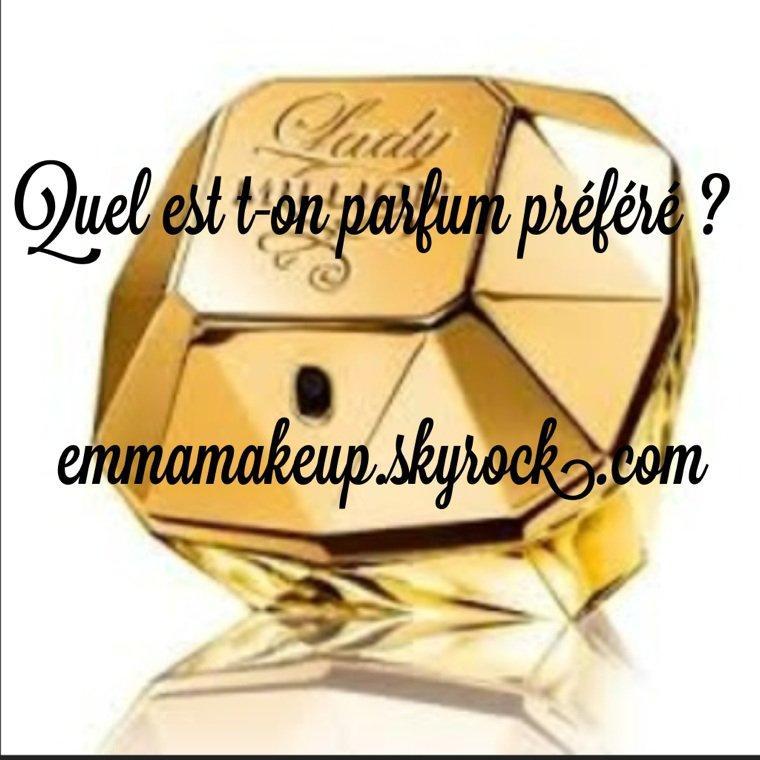 Votre parfum préféré ? ?