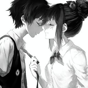 Images noir et blanc ... ♡