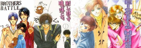Fiche Manga  yaoi - Electric Hand