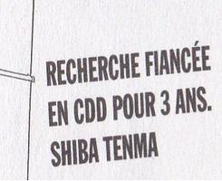 Fiche Histoire Bonus : La Fiancée des Shiba