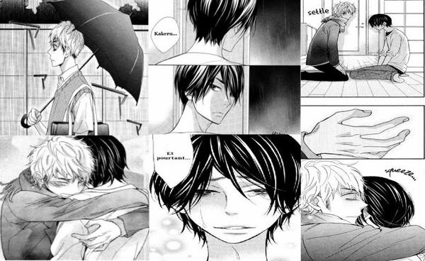 Fiche Manga Yaoi - Under the Umbrella - with you