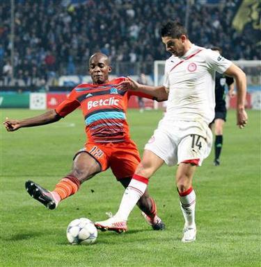 Football: Marseille chute a domicile