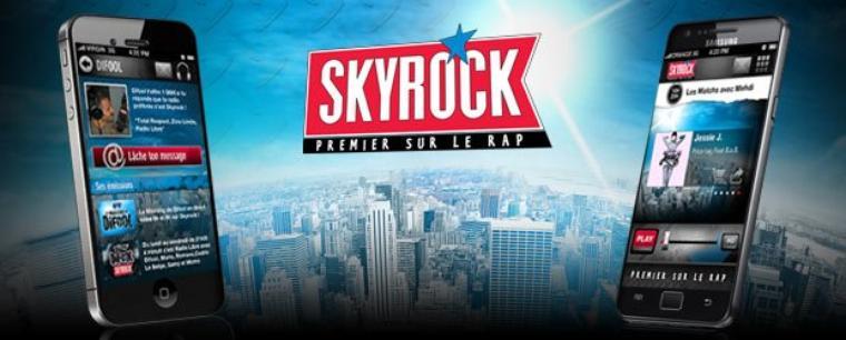 SONDAGE : Donne ton avis sur l'appli Skyrock !