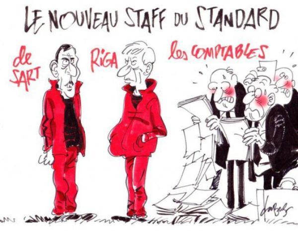 José Riga, Peter Balette, Jean-François de Sart et Bernard Smeets pour 2 ans au Standard
