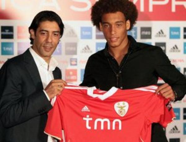 "Axel Witsel : ""Gagner le titre avec Benfica"""