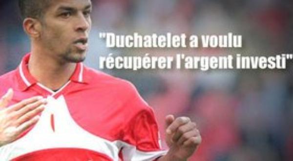 """Carcela : """"Duchatelet m'a poussé vers la sortie"""""""