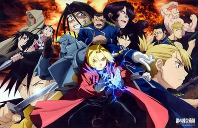 Fullmetal Alchemist, Brotherhood