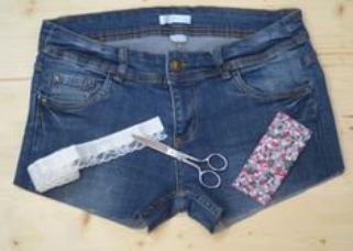 ♥ Customisation ♥ Nouveau short dans ta garde-robe