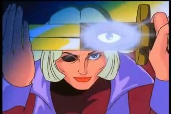 Dessin animé manga antéchrist et illuminati : Cobra Space Adventure