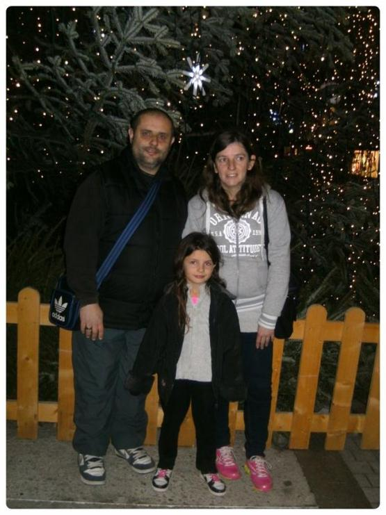 moi et mon homme et ma fille