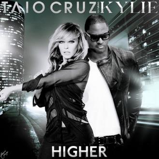 Taio Cruz (feat. Kylie Minogue): Higher (Video Premiere)