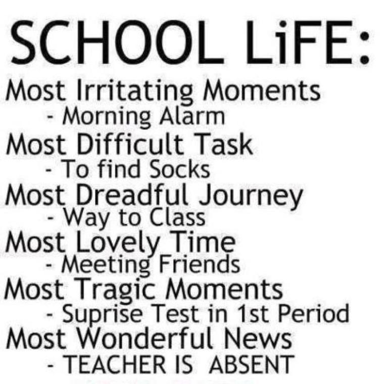 Fucking school  :p