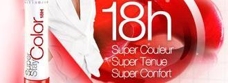 Super Stay Color 18h - Gemey Maybeline