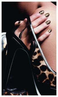 """Manucure Couture  """"Les Fauves"""" - Yves Saint Laurent"""