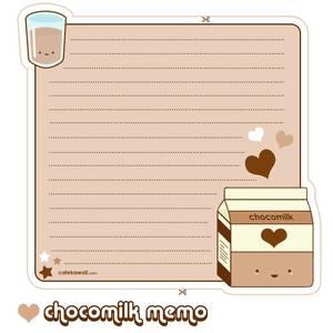 lettre chocomilk
