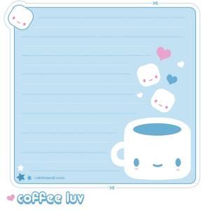 lettre café